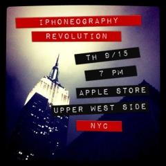 Apple Store announcement